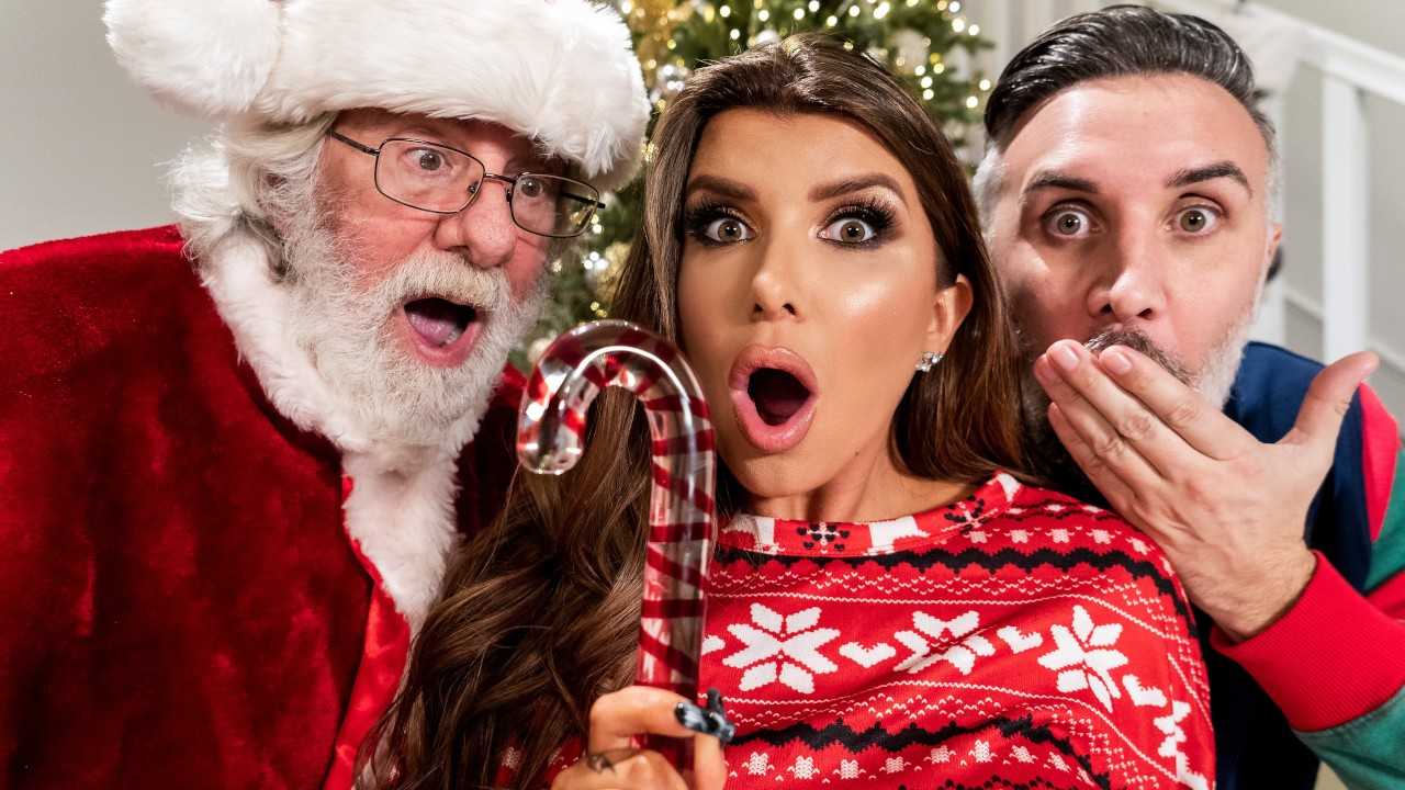 brazzers Claus Gets To Watch